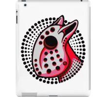 Hockey Mask Bull Terrier Red  iPad Case/Skin
