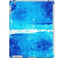 Blue Modern Art - Two Pools - Sharon Cummings iPad Case/Skin