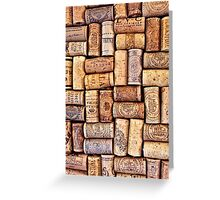 Cork Art Greeting Card