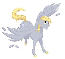 Derpy Hooves (My Little Pony) Photographic Print