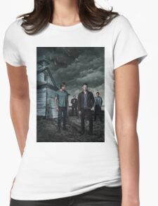 Supernatural s9 Womens Fitted T-Shirt