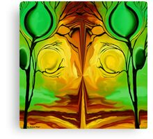 Untitled Abstract 57-  Art + Products Design  Canvas Print