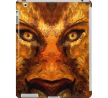 Lions Face iPad Case/Skin