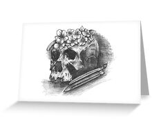 Art till you die Greeting Card