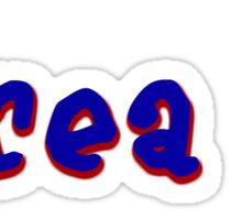area II  Sticker