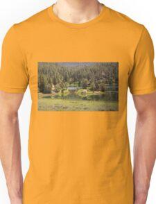 Cabin On The Lake Unisex T-Shirt