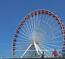 Ferris Wheel at the Navy Pier by WeeZie
