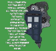 When the Doctor was Me, Doctor Who Baby Tee