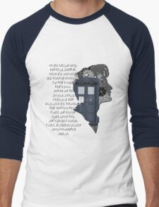 When the Doctor was Me, Doctor Who Men's Baseball ¾ T-Shirt