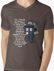 When the Doctor was Me, Doctor Who Mens V-Neck T-Shirt