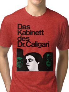 Caligari Poster  Tri-blend T-Shirt