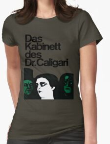Caligari Poster  Womens Fitted T-Shirt