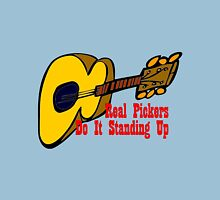 Guitar - Real Pickers Do It Standing Up Classic T-Shirt