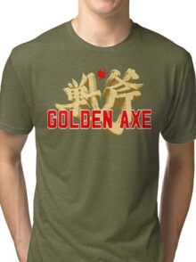 Golden Axe Tri-blend T-Shirt