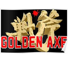 Golden Axe Poster