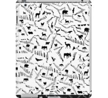 Animals in Silhouette iPad Case/Skin
