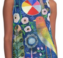 Color Wheel Bird Contrast Tank