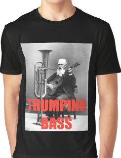THUMPING BASS - Origins of House Music Graphic T-Shirt