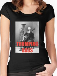 THUMPING BASS - Origins of House Music Women's Fitted Scoop T-Shirt