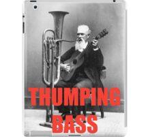 THUMPING BASS - Origins of House Music iPad Case/Skin