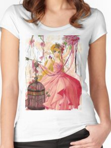 Valentine Princess Women's Fitted Scoop T-Shirt