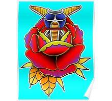 DBZ rose Poster