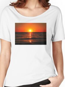 Bright Skies - Sunset Art Women's Relaxed Fit T-Shirt