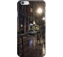 Wet Street Scene iPhone Case/Skin
