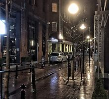 Wet Street Scene by diggle