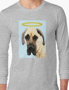 Great Dane Art - I Didn't Do It Long Sleeve T-Shirt