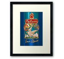Falcon Vintage Racing Bicycles England Framed Print