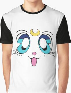 Artemis Cat Sailor Moon Graphic T-Shirt