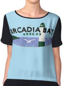 Life is strange Arcadia Bay Oregon Chiffon Top