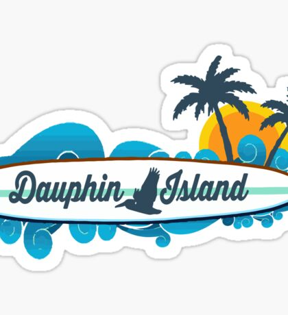 Dauphin Island - Alabama.  Sticker