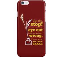 Harry Potter Wingardium Leviosa iPhone Case/Skin