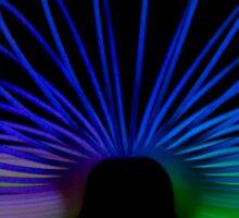 Glow Slinky Sticker