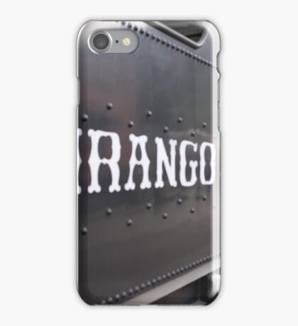 The Train of the Narrow Gauge iPhone Case/Skin