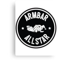 Armbar Allstar Canvas Print
