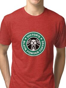 Victor's Black Powder Coffee Tri-blend T-Shirt