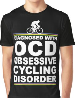 OCD Obsessive Cycling Disorder Funny T Shirt Graphic T-Shirt