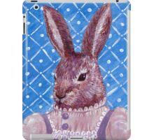 Vintage Rabbit  iPad Case/Skin