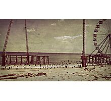 Seaside Heights After Sandy Photographic Print