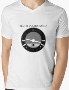 Keep it Coordinated Mens V-Neck T-Shirt