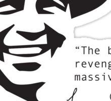 Frank Sinatra Quote Sticker