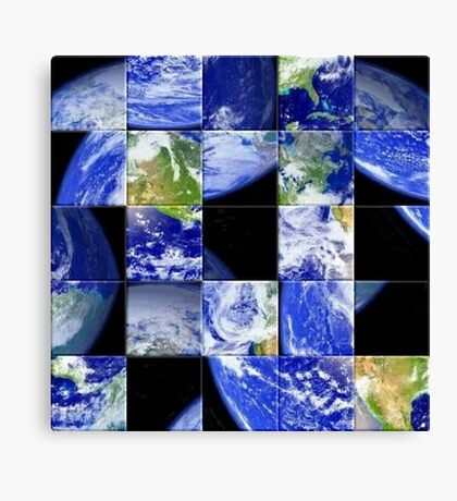 Keeping Earth In Check Canvas Print