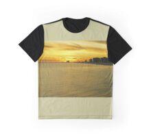 Atlantic City Sunset Graphic T-Shirt