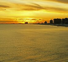 Atlantic City Sunset by Jessica Liatys