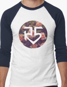 Floral R5 Logo Men's Baseball ¾ T-Shirt