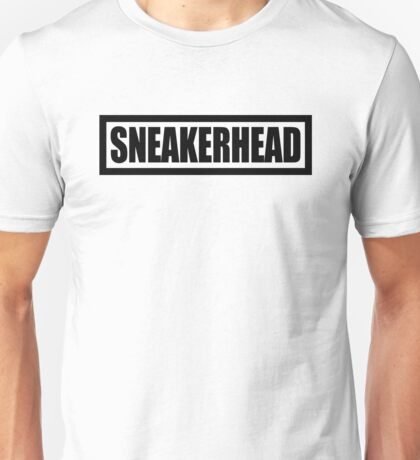 Sneakerhead Box - Black Unisex T-Shirt