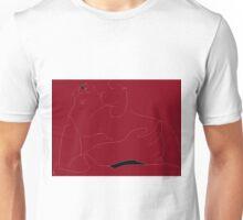 Female Nude -(060616)- Digital artwork: MS Paint/Mouse drawn Unisex T-Shirt